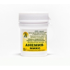 Гранулы гомеопатические «Анемия-микс»10гр.