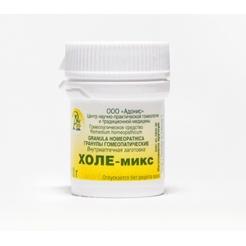 Гранулы гомеопатические «Холе-микс»10гр.