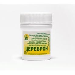 Гранулы гомеопатические «Цереброн»10гр.